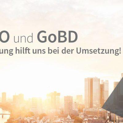 Tolles Event im Februar: DSGVO und GoBD – Die Digitalisierung hilft uns!