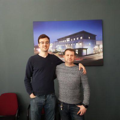 """""""Die Chemie stimmt"""" - Frederik Weber, Gründer von upCam, über die Zusammenarbeit mit Lufapak"""