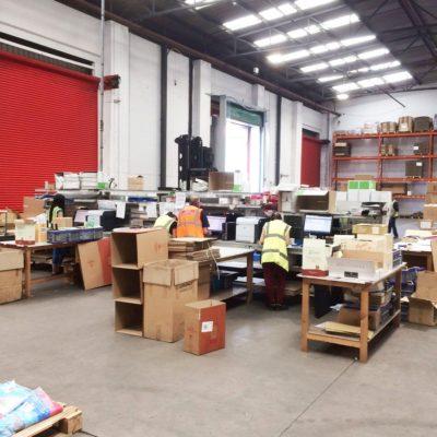 DK Fulfilment Lager Versand Warehouse UK 2