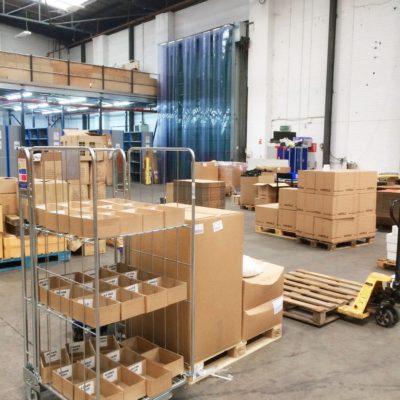 DK Fulfilment Lager Versand Warehouse UK 3