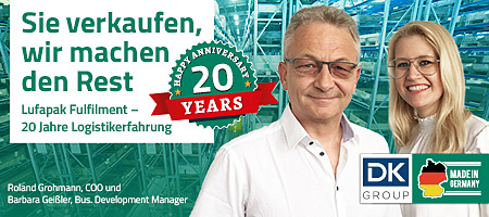 20 Jahre Lufapak Fulfillment Anbieter EFulfillment Ecommerce Fulfillment Online Shops Kitting, Binning, Montge