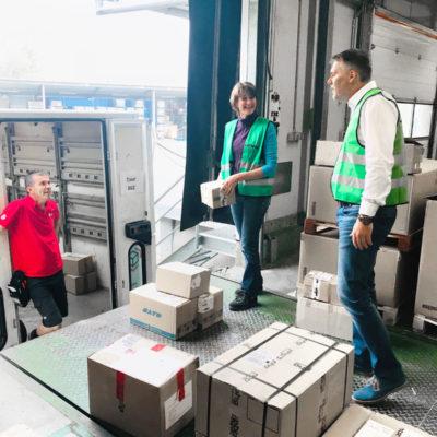 Transportmanagement Ersatzteillogistik Wareneingang Warenausgang Paketsendungen Spedition