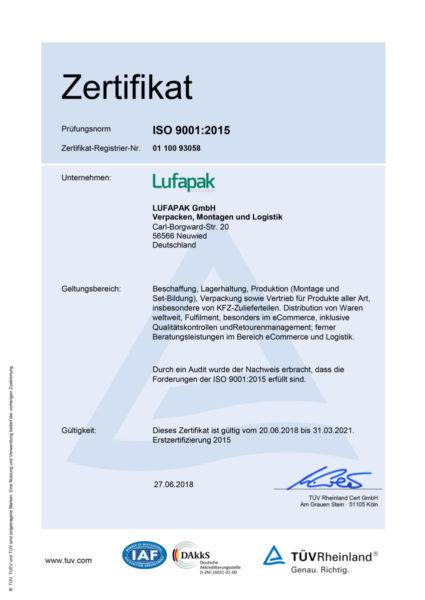 Zertifikat Iso 9001 2015 200618 310321 De