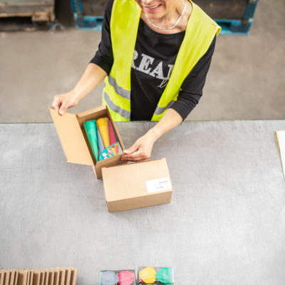 Ecommerce Kitting Set Building Sammelverpackung Einzelverpackung Verpackung Logistik