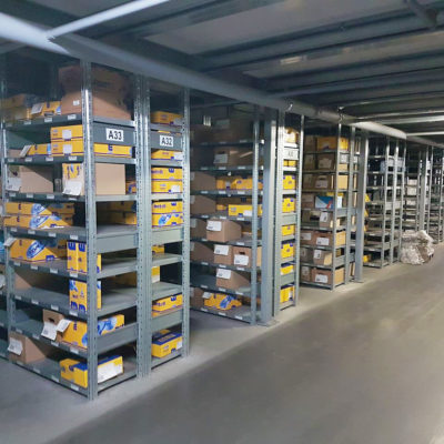 Ecommerce Lager Binning Kleinteile Produkte Onlinehandel