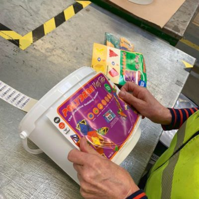 Fulfillment Aktionsverpackung Packaging Lohnverpacker Lohnpacker Lohnverpackungsservice Copacking 3