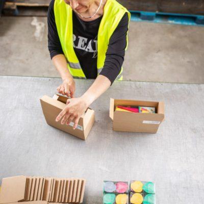 Fulfillment Aktionsverpackung Packaging Lohnverpacker Lohnpacker Lohnverpackungsservice Copacking 6