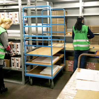 Kleinteilelager E Commerce Fulfillment Lager Logistik Lufapak