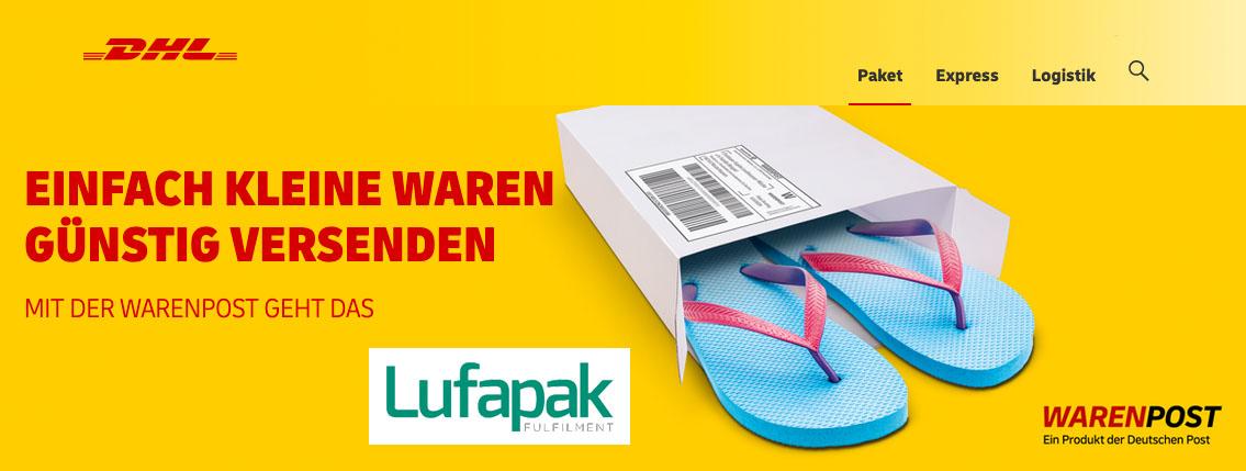 Lufapak Warenpost Deutsche Post Dhl