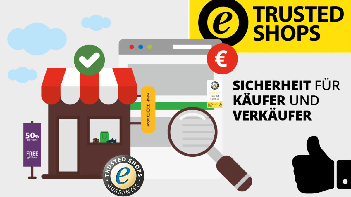 Onlineshop Guetesiegel Bewertungssiegel Trusted Shops