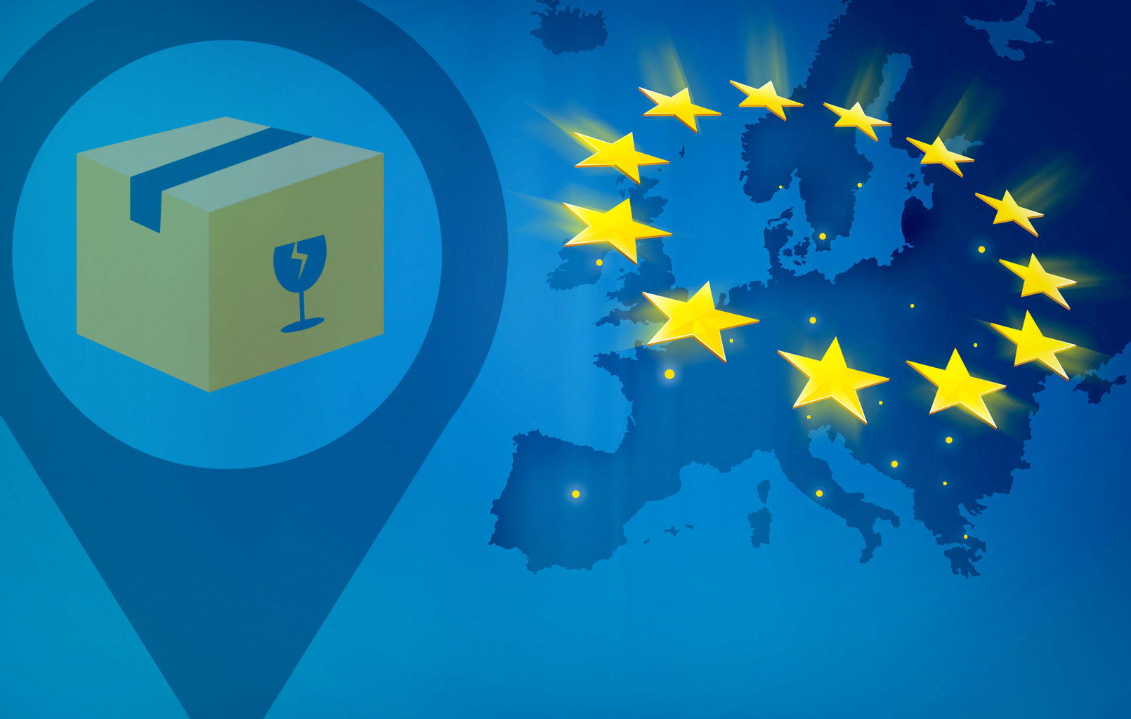 (Pan)Europäische Fulfillment – Lager & Logistik – European Fulfillment Services