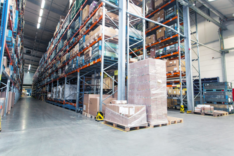 Pallet- & Parceled goods storage